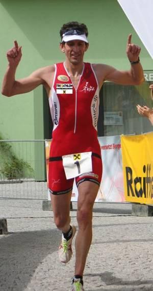 Albuin Schwarz - mehrfacher Tiroler und Staatsmeister im Triathlon und Duathlon / Bild: Verein Tri Telfs